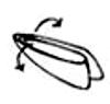 Dobre as pontas das quinas inferiores pela parte de baixo e volte a dobrar pela metade do lado mais largo