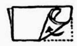 Apoie pelo meio da extremidade inferior com o polegar, tome a extremidade inferior à direita e enrole-a ao redor do centro.