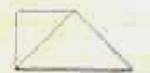 Puxe o canto inferior esquerdo para a direita, formando um triângulo.