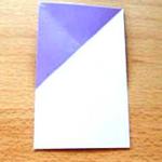 """Abra a dobra e você verá o formato de um """"X""""."""