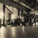 Beneficiamento do Café da Fazenda Santa Gertrudes 1920
