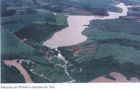 Ribeirão Pinhal e Represa Tatu