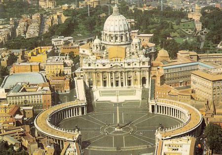 Um exemplo de Cidade-Estado: Vaticano