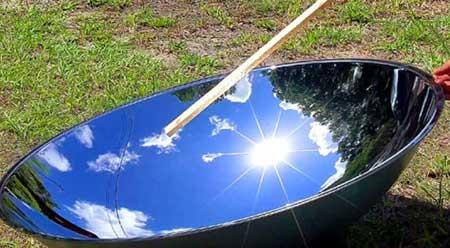 Espelho Parabólico