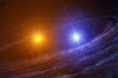 Sistema binário de estrelas